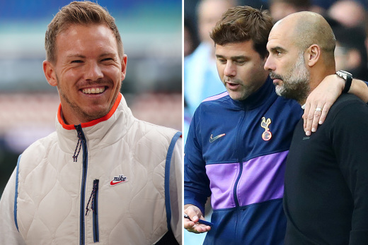 Man City Target Leipzig Coach Nagelsmann, Pochettino As Potential Replacements For Guardiola