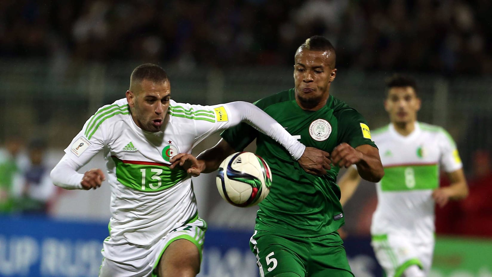 ALGERIA 9-9 NIGERIA: Super Eagles In Stalemate With Desert Foxes In Head-To-Heads