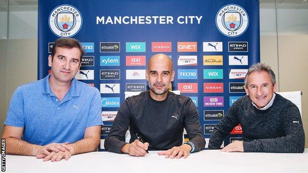 Guardiola Signs New Two-Year Contract At Man City