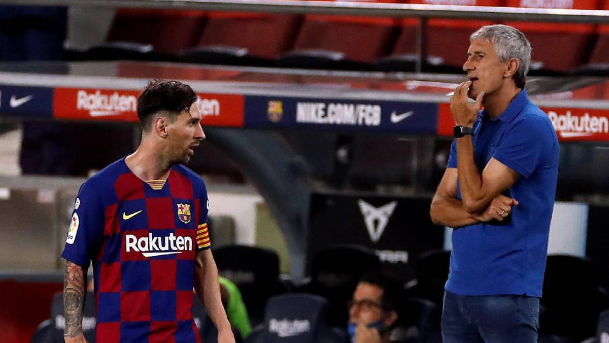 Ex-Barca Coach, Setien: Messi Difficult To Manage