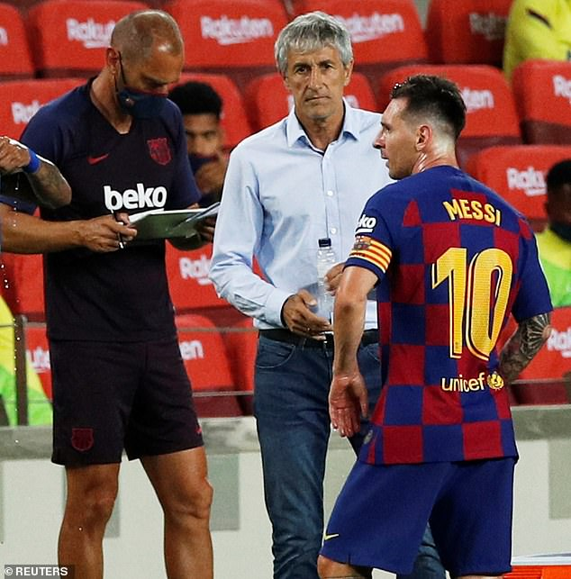 INTERVIEW – Setien On Why It's Not Easy To Manage Messi; Being 'Tremendously Damaged' By Barca's 2-8 Loss To Bayern