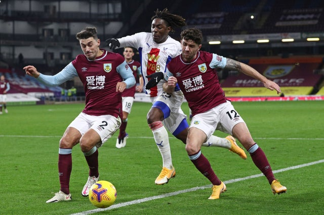 Eze Rated Crystal Palace Best Player In Defeat At Burnley