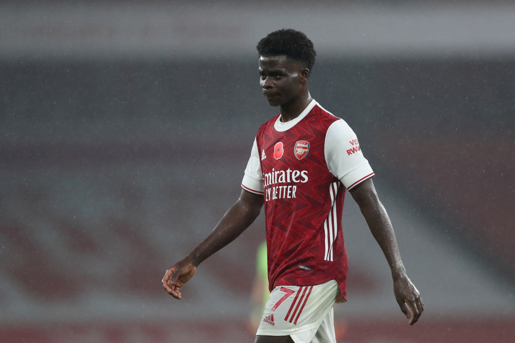 De Jong: Saka Let Arsenal Defence Down Against Villa