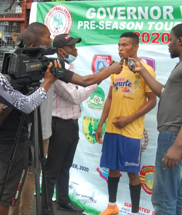 Governor Wike Pre-Season Tourney: Nnaji Is MOTM As 10-Man Udala FC Pip Goddosky