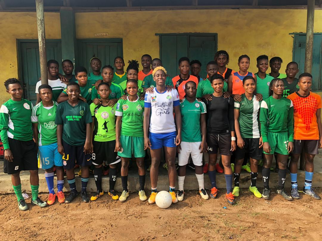 Oshoala Unveils 8-Aside Football4girls Tourney