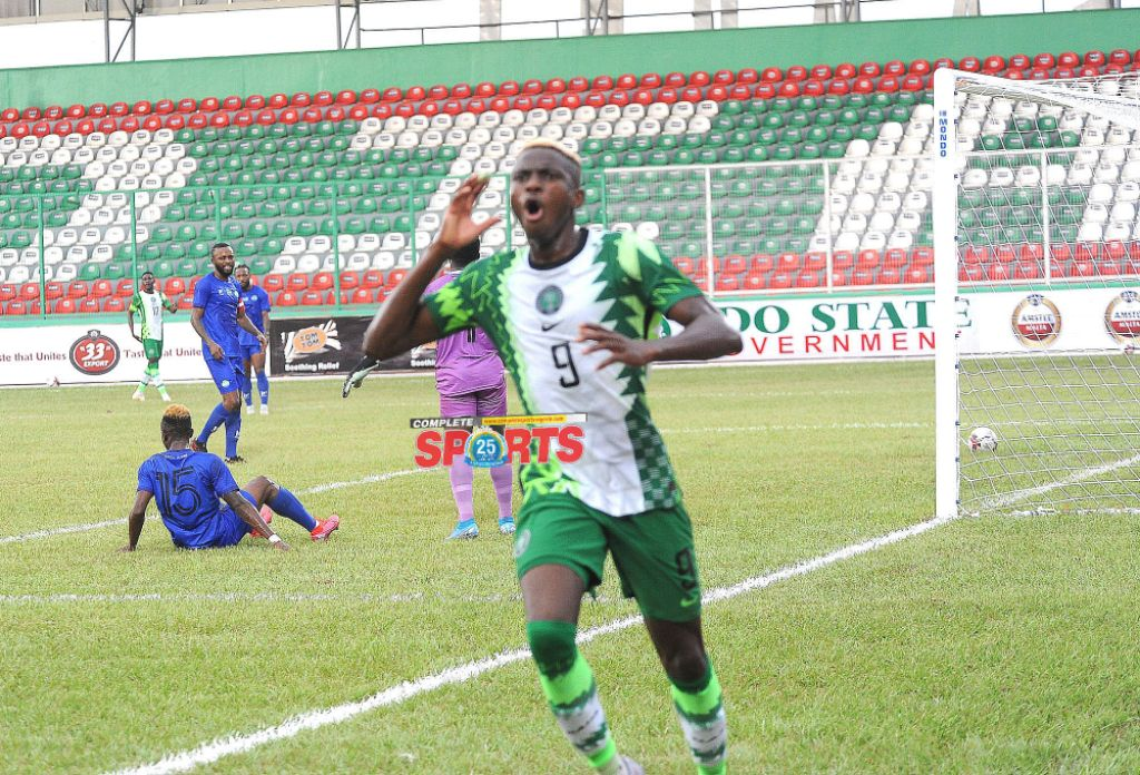 2021 AFCON Qualifier: Osimhen Out Of Super Eagles Return Fixture Against Sierra Leone