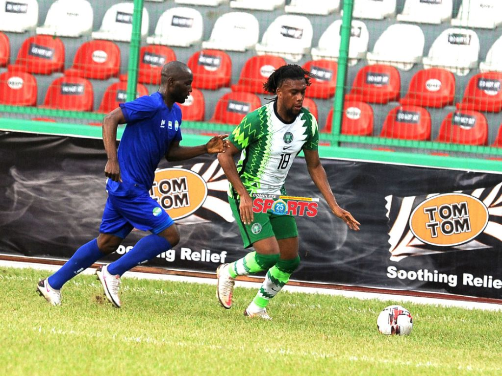 """""""We 'll Work To Put Things Right'- Iwobi Assures After Draw Vs Sierra Leone"""