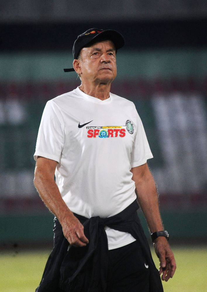 Rohr: Poor Pitch, Long Balls From Sierra Leone Affected Eagles