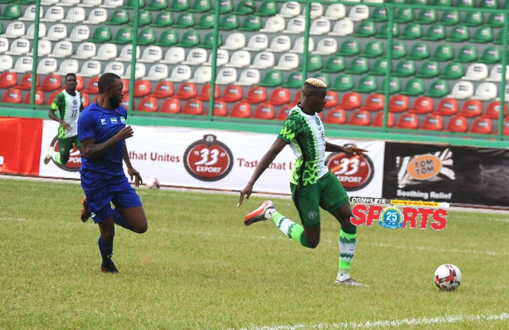 Leone Stars  Captain Bangura Suspended For Super Eagles Rematch