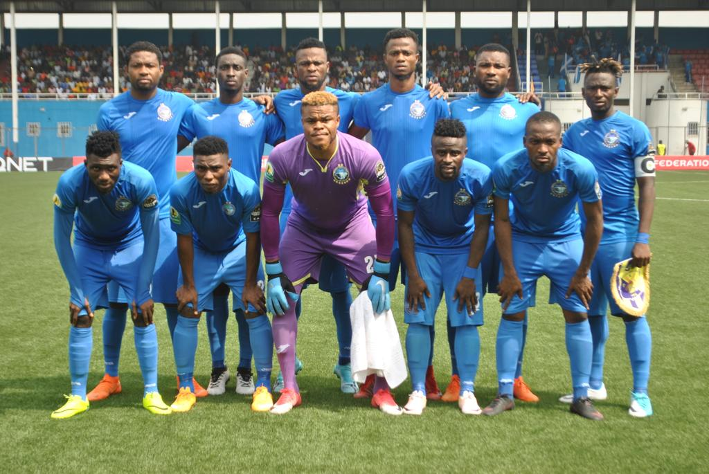 CAFCL: Enyimba Players, Officials Undergo Covid-19 Test Ahead Rahimo Trip; Coach Nosike Joins Team