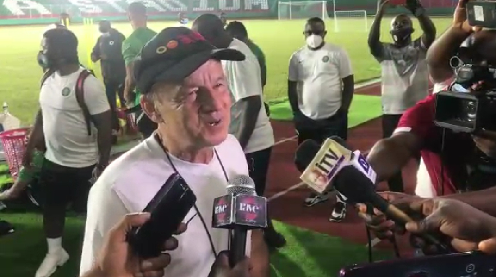 INTERVIEW – Rohr Explains How Super Eagles Will Play  'Physical Team' Sierra Leone