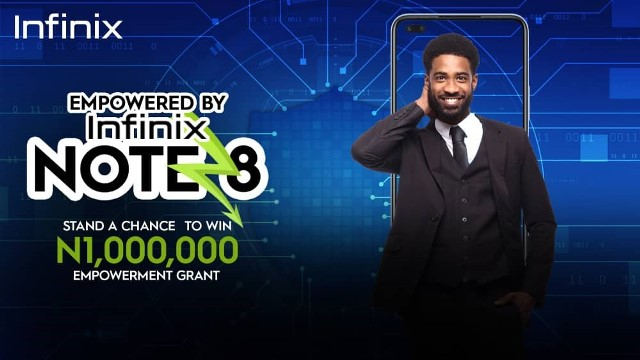 Win 1million Naira In The Infinix Note 8 Empowerment Campaign