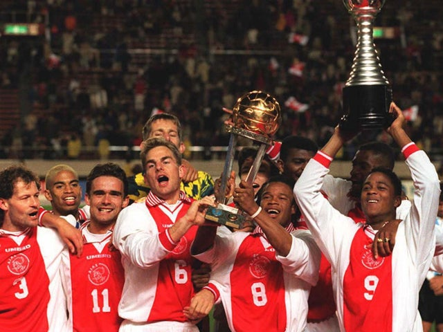FIFA Celebrates Finidi, Kanu, Ajax Teammates' 1995 Intercontinental Cup Win Vs Gremio