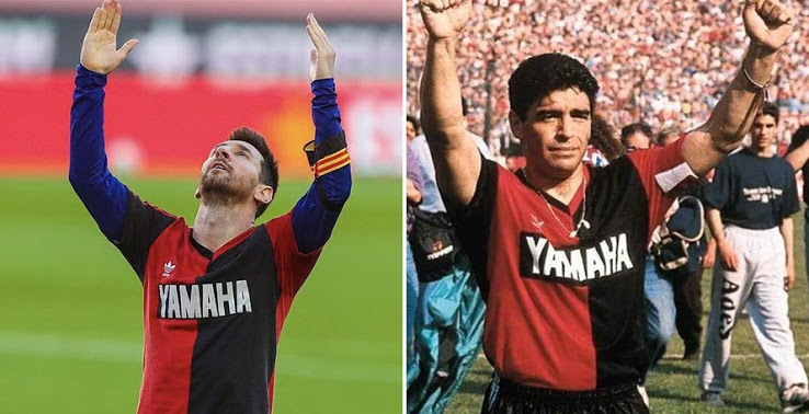 Barcelona To Pay €3000 Fine Over Messi's Goal Celebration To Maradona