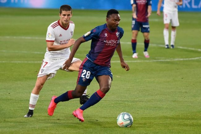 Laliga: Nwakali Subbed On Late In Huesca's Home Draw Vs Eibar