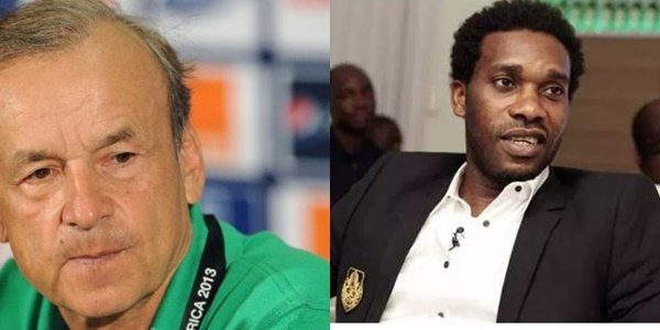 Okocha: I Will Score Rohr 7 Over 10