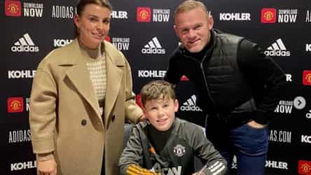 Wayne Rooney a 'proud dad' after son Kai signs for Man United