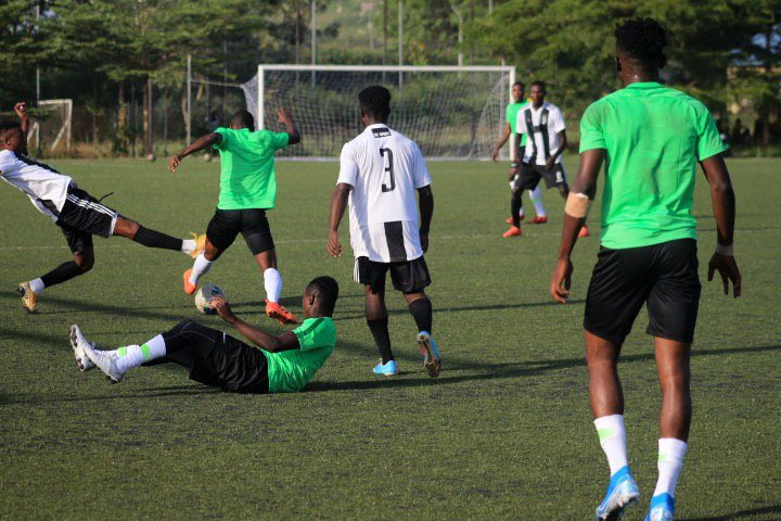 Flying Eagles Beat Zaria Academy 3-0 In Friendly