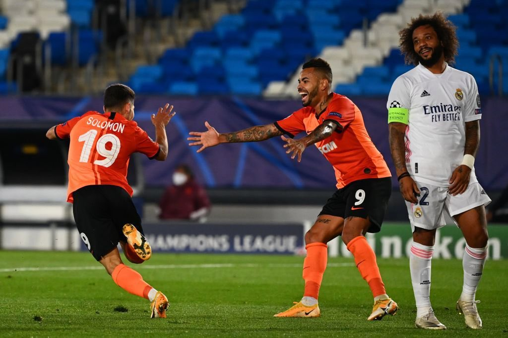 Madrid Facing Champions League Exit After Defeat To Shakhtar Donetsk