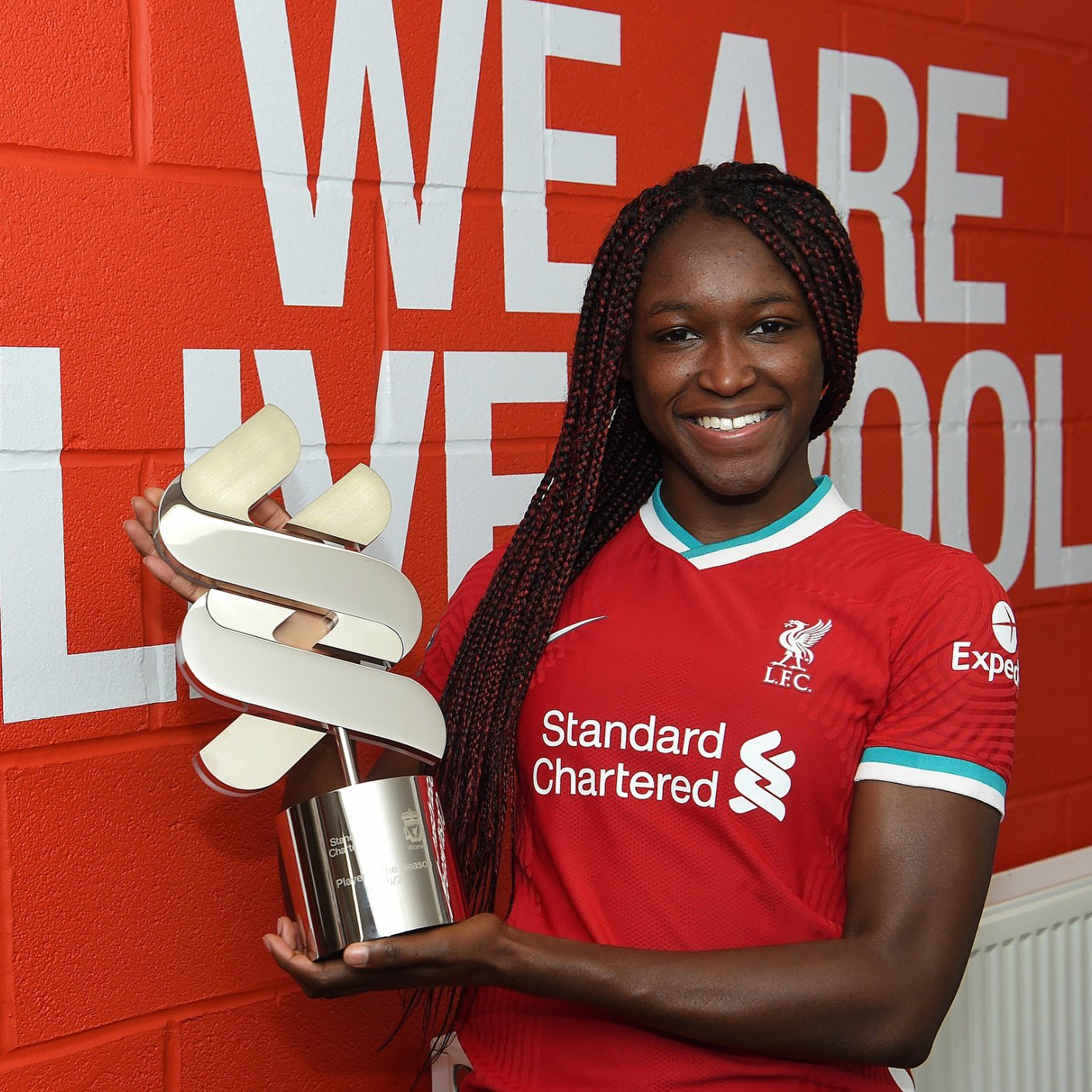 Nigerian Winger Babajide Wins Liverpool Women's November Player Of The Month Award