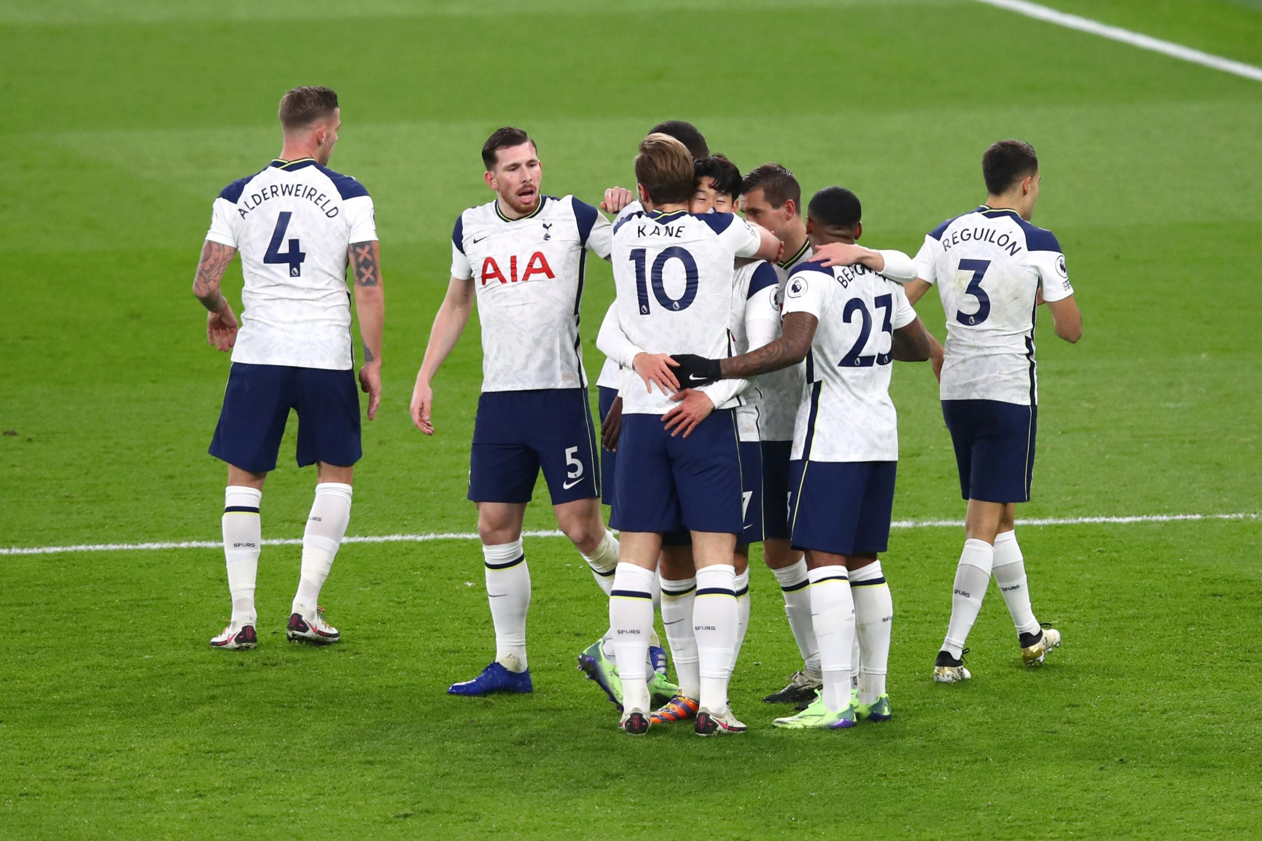 Premier League: Kane Makes North London Derby Record As Spurs Beat Arsenal To Go Top