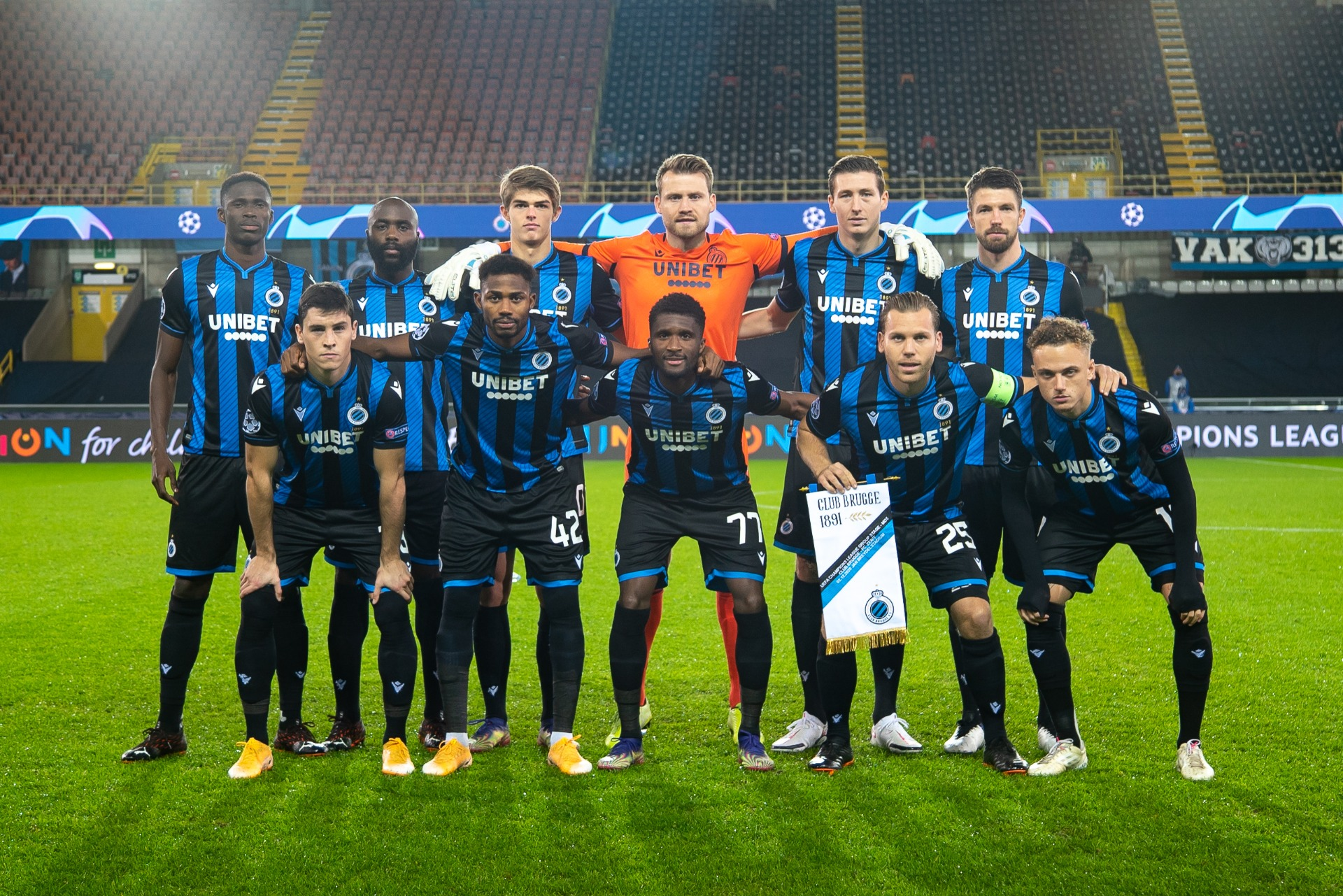'We Have Nothing To Lose'- Okereke Confident Of  Club Brugge's Victory Against Lazio