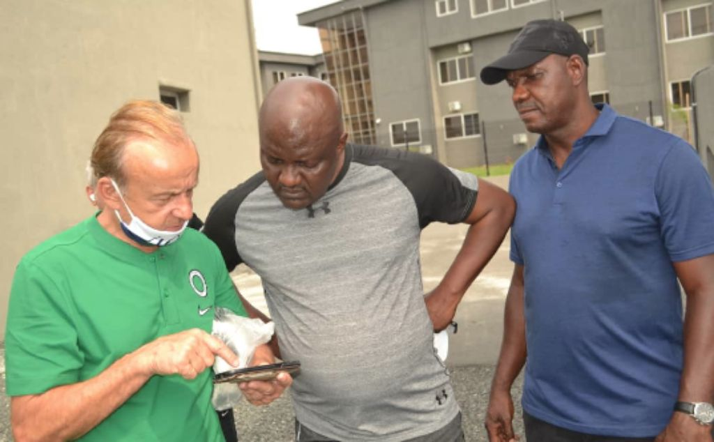 Real Madrid Academy Port Harcourt Ready To Rival Big European Facilities  –Rohr