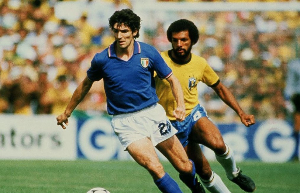 Italy's 1982 World Cup Hero Rossi Dies At 64