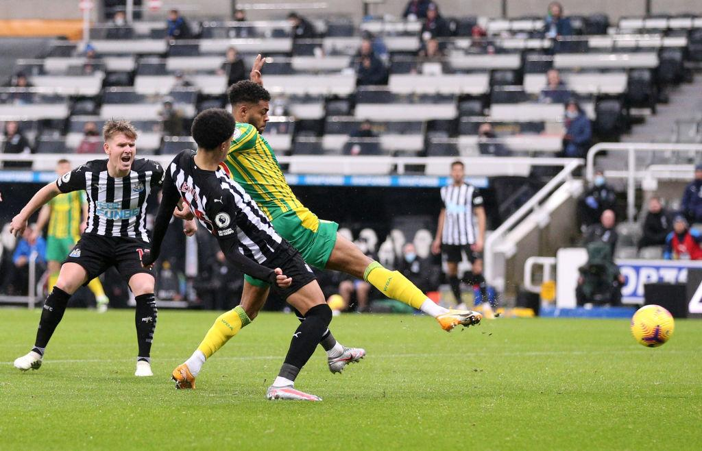 Premier League: Ajayi In Action As West Brom Fall To Newcastle United