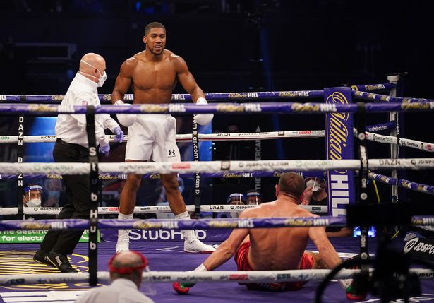 Joshua Ready To Face  Fury After Knocking Out Pulev