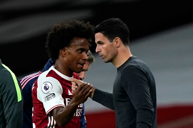 Arsenal Players Unhappy With Prefrential Treatment Of Willian