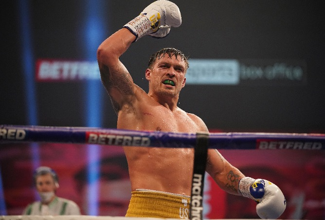 Usyk Ready To Step Aside To Allow Joshua Fight Fury