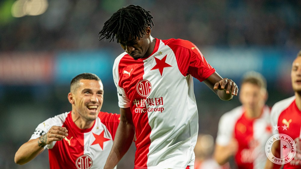 Olayinka Thrilled To Sign New Slavia Prague Contract