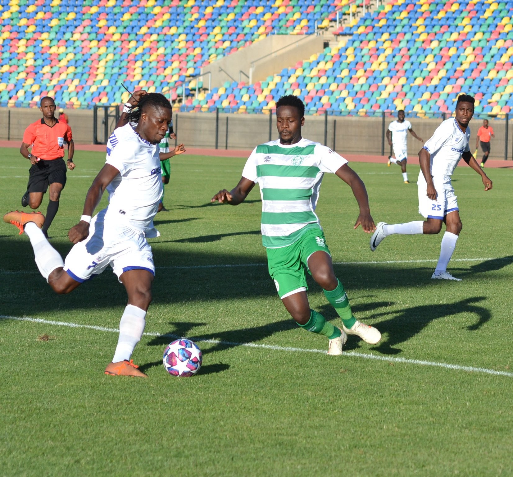 CAFCC: Rivers United Pip Bloemfontein Celtic 2-0 Away