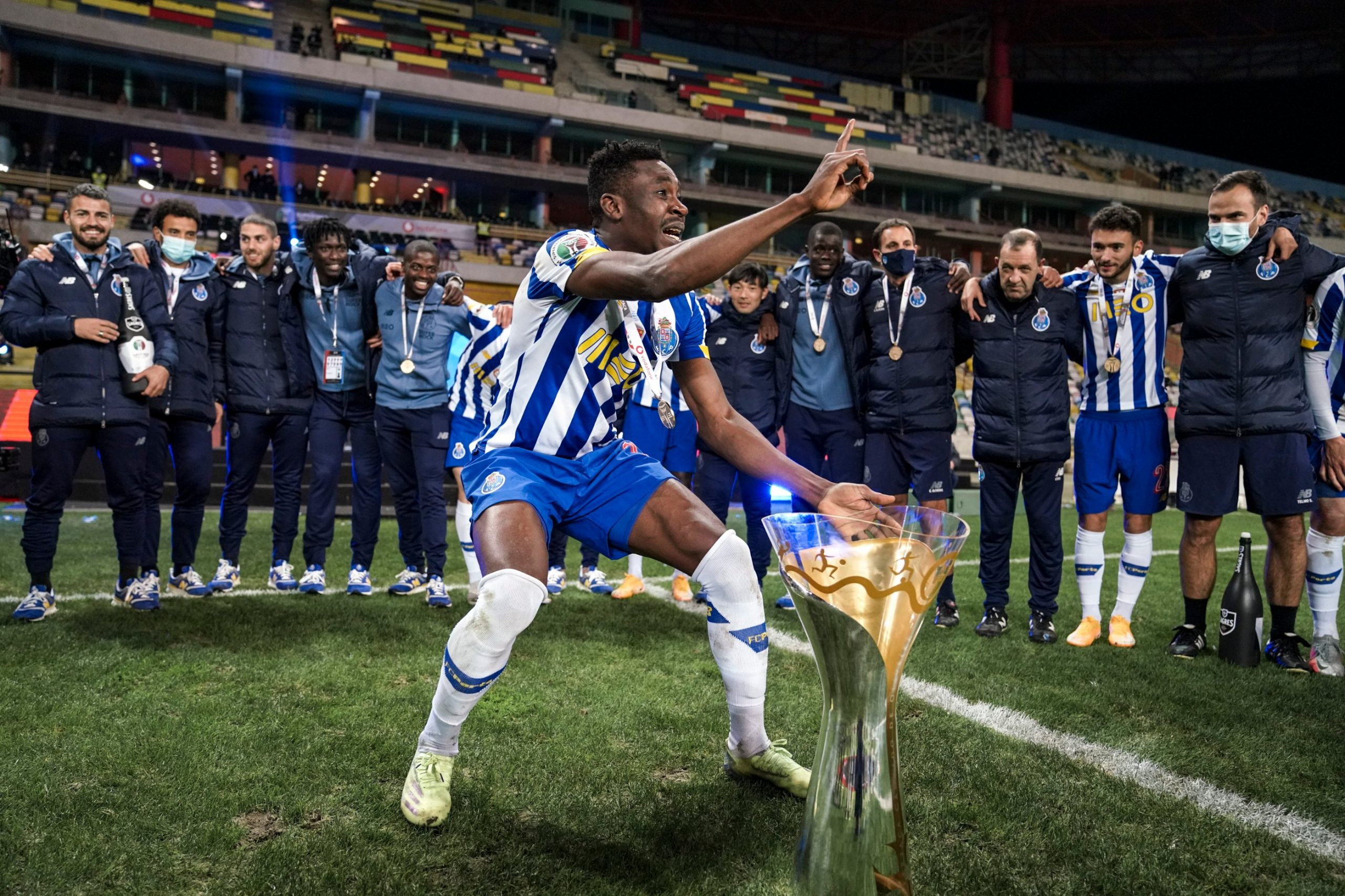Sanusi Celebrates Portuguese Super Cup Title Win With Porto