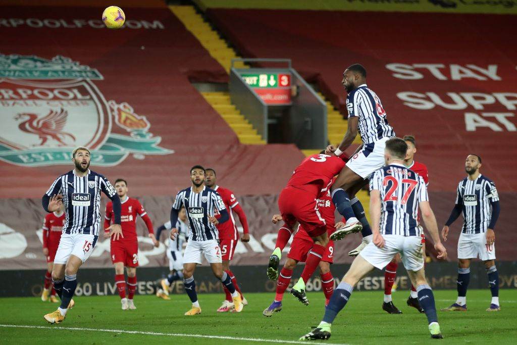 Premier League: Ajayi's Late Goal Earns West Brom Away Draw Vs Liverpool