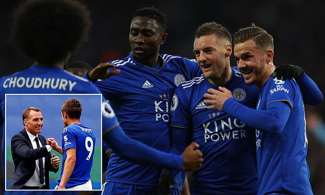 Rodgers Insists Benching Ndidi, Vardy  Vs Palace Was Correct Decision