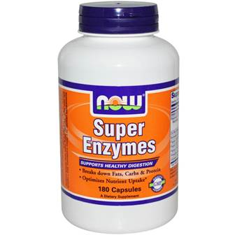 NOW Foods Supplements, Super Enzymes, Formulated with Bromelain, Ox Bile, Pancreatin