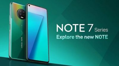Infinix Note 7 Named Smartphone