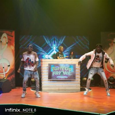 Turn Up Friday with Infinix