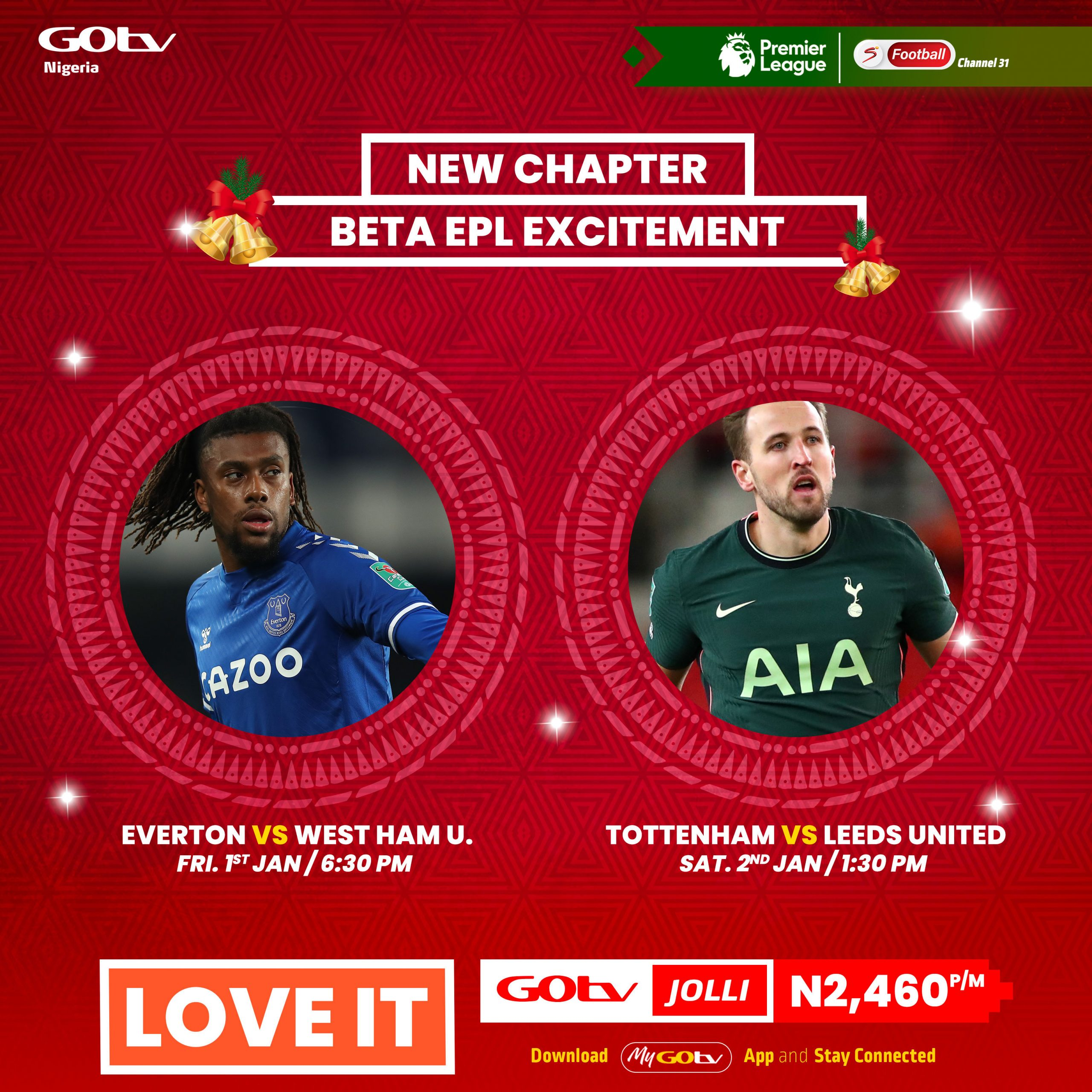 Enjoy Breath Taking Football Action On GOtv This Season