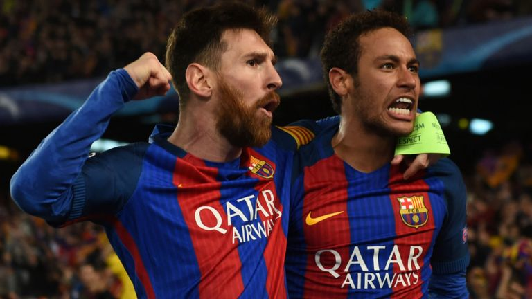 Neymar: I Want To Play With Messi Again