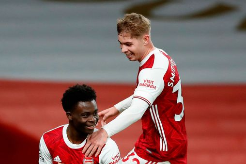 Saka, Smith Rowe Set Premier League Record In Arsenal's Win Over Newcastle
