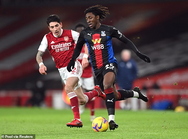 Ex-Liverpool Star, Redknapp: Eze Best Player In Arsenal Vs Palace Game