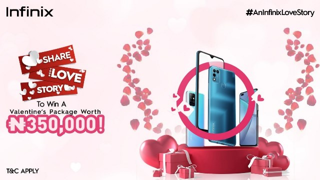 Share Your Love Story With Infinix And Win A Special Valentine Package