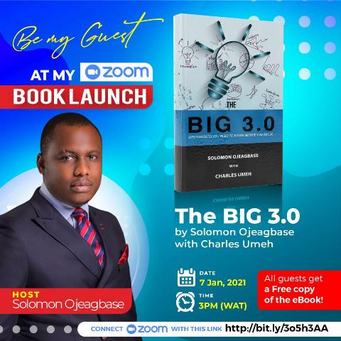 The BIG 30: Be My Guest At My Book Launch
