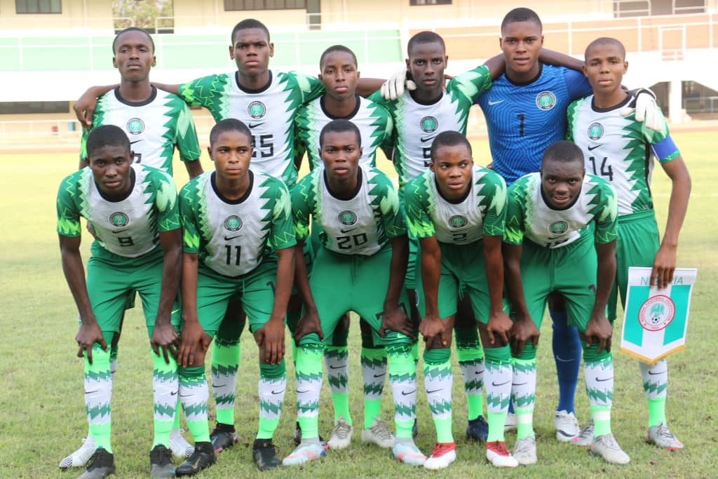 WAFU B Tourney: Pinnick Charges Golden Eaglets To Go For Victory Against Ghana