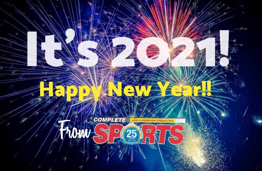 Welcome To 2021! Happy New Year !!  –From Complete Sportsp