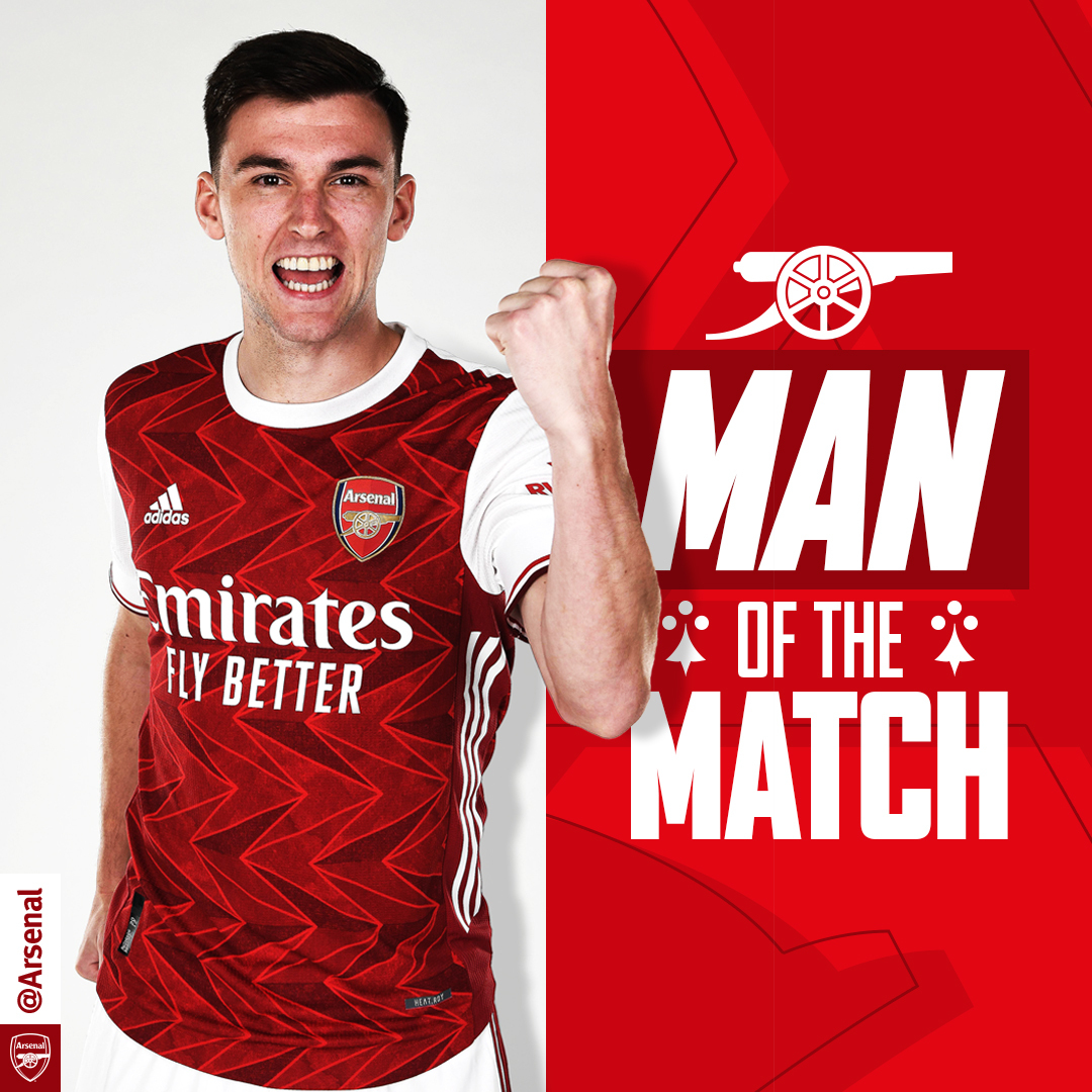 Tierney Denies Saka Third Man Of The Match Award