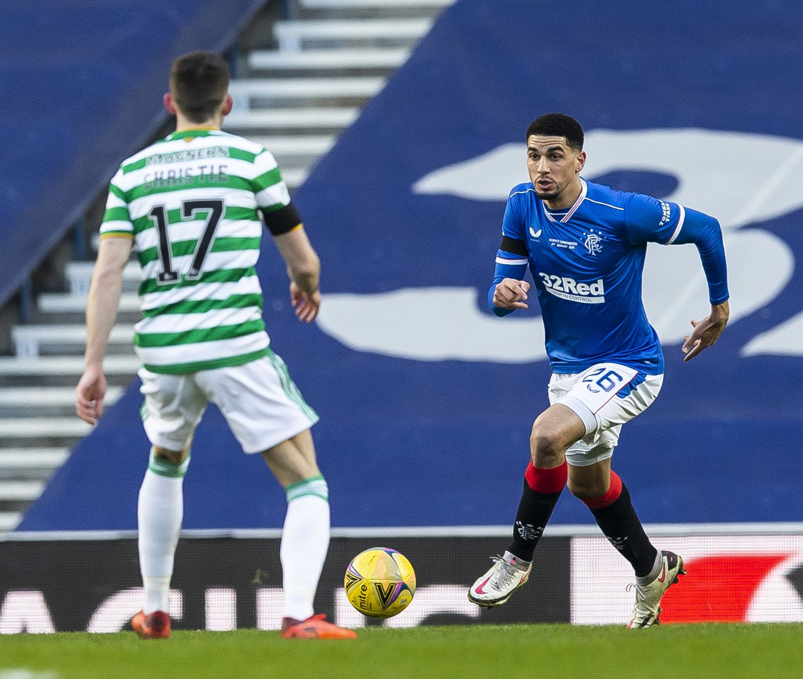 Balogun Thrilled To Give Rangers Fans 'Little Gift'  After Win Vs Celtic